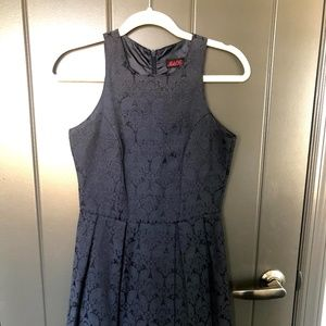 Motel Rocks/ModCloth Navy Blue Fit &Flare Dress